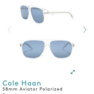 🔷 Cole Haan 🔷 Polarized Aviator Sunglasses